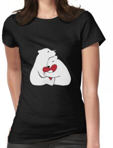 Bears Love Womens Fitted T-Shirt