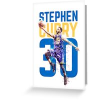 Curry 30 Greeting Card