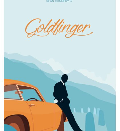 Goldfinger - Blue Sticker