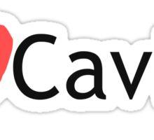 I Love Caving Sticker