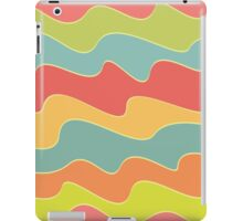Funny colorful wave pattern iPad Case/Skin
