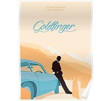 Goldfinger - Orange Poster