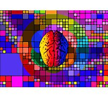 The creative mind - Colorful Geometric Conceptual Art  Photographic Print
