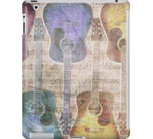 Sleeping Guitar iPad Case/Skin