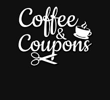 Coffee & Coupons Womens Fitted T-Shirt