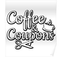 Coffee & Coupons Poster