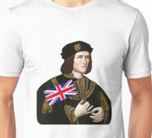 King Richard III Supports Leicester Football (Soccer) Unisex T-Shirt
