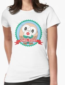 Rowlet Post Womens Fitted T-Shirt