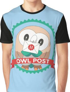 Rowlet Post Graphic T-Shirt