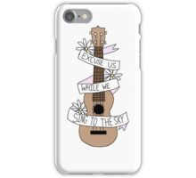 Song Lyrics Ukulele iPhone Case/Skin