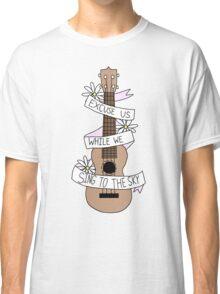 Song Lyrics Ukulele Classic T-Shirt