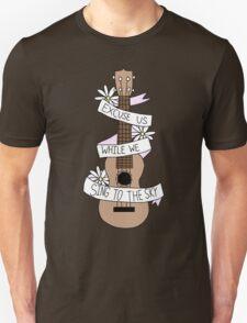 Song Lyrics Ukulele T-Shirt