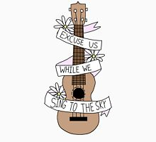 Song Lyrics Ukulele Unisex T-Shirt
