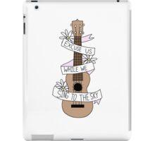 Song Lyrics Ukulele iPad Case/Skin