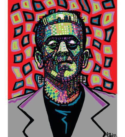 Frankenstein Funkenstein Sticker