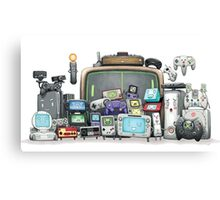 videogames console arcade consolas videoconsolas Canvas Print