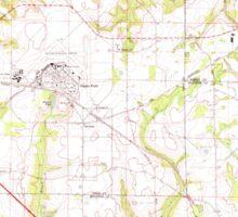 USGS TOPO Map Alabama AL Midland City 304550 1969 24000 Sticker