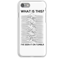Joy division v2 iPhone Case/Skin