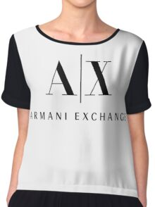 Armani Exchange Chiffon Top