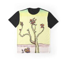 Psychedelic Desert Plant Graphic T-Shirt