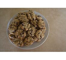 Betty's Chocolate Chip Cookies Photographic Print
