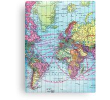 Around the world.. Travel Free! Canvas Print