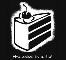 the cake is a lie! Kids Tee