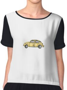 Emma's beetle car (Once Upon A Time) Chiffon Top