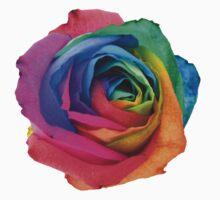 Rainbow Rose 01 Kids Tee