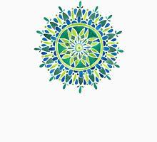 Watercolor Mandala – Green Unisex T-Shirt