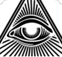 Illuminati Simple Sticker