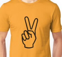 PEACE VICTORY yeah Unisex T-Shirt