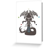 Sliver Overlord MTG Greeting Card