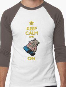 Keep Calm Lufsig Men's Baseball ¾ T-Shirt