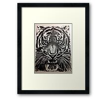 TIGER FACE Framed Print