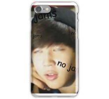 Jimin - no jams iPhone Case/Skin