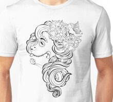 DOTD Girl Tattoo Design Unisex T-Shirt