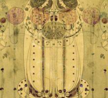 Vintage famous art - Charles Rennie Mackintosh  - The Wassail Sticker