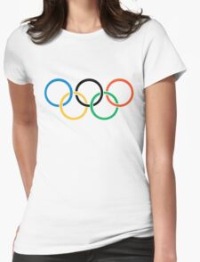 Olympics Logo  Womens Fitted T-Shirt
