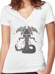 Sliver Overlord MTG Women's Fitted V-Neck T-Shirt