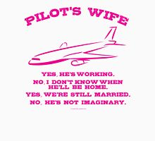 Pilot's Wife Womens Fitted T-Shirt