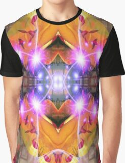 Abstract Flower Graphic T-Shirt