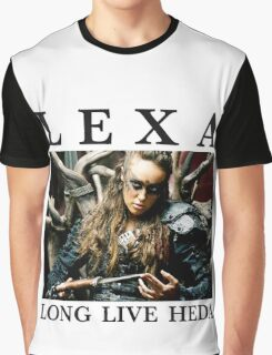 LEXA - LONG LIVE HEDA (The 100) Graphic T-Shirt