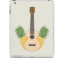 Pineapple uke iPad Case/Skin