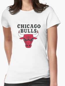 Chicago Bulls Womens Fitted T-Shirt