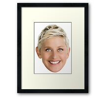 Ellen DeGeneres Framed Print
