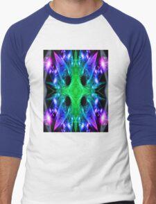 Alien Snowflake Men's Baseball ¾ T-Shirt