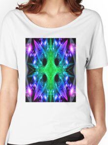 Alien Snowflake Women's Relaxed Fit T-Shirt