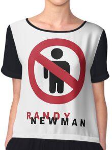 Randy Newman-Short People Chiffon Top