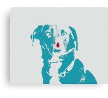 Dog Love - Donut Canvas Print